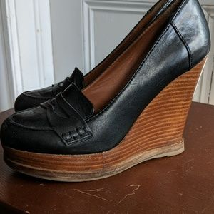 Lucky Brand loafer wedge